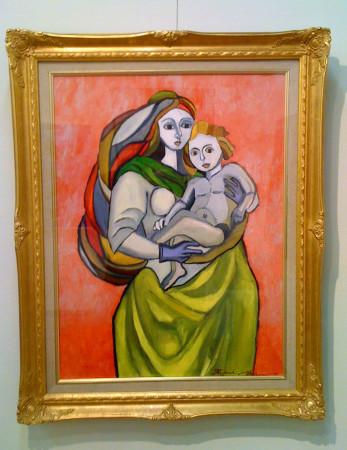 聖母子/小原聖史