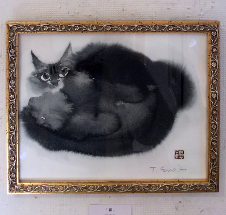 「猫」榎俊幸