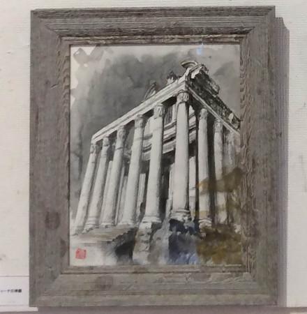 松江比佐子/アントニウスとファウスティーナの神殿