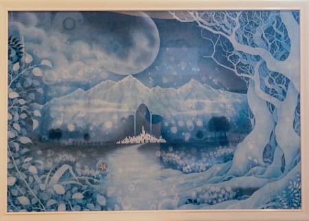 「静穏なる夜へ還る道」淕月