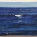 「青い海、白い波/The blue sea, white wave」(ご売約済み)
