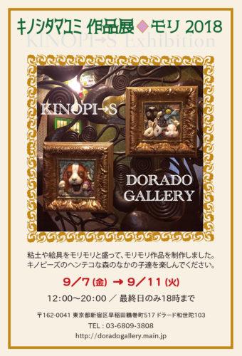 KINOPI→S個展DM/表面