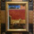 「赤い壁と白い犬」吉岡正人