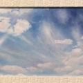「雲の水遊び」ひらごおりゆうこ