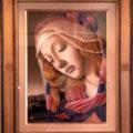 《ご売約済》ボッティチェリ「マニフィカトの聖母」(一部)模写/篠塚はるみ