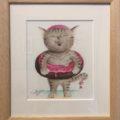 Foodie cat Ⅲ / Sachi Bockle
