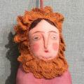 mother Maria (orange lace) /tanna