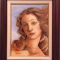 ヴィーナスの顔の模写/松江比佐子