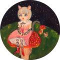 《ご売約済み》10「森に住む妖精」/加藤智子