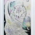方羽根の白狼/柴田洋美