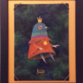 かしこい鳩の王様/赤綿
