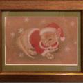 《ご売約済み》「サンタがウチに」/山本恭子