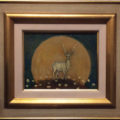「鹿と月」/小原聖史
