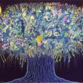 「千の世に闢く青い木」長谷川千晴
