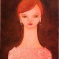 《ご売約済み》「私はあなたにふさわしい〜白薔薇〜」/ mieco yamashina