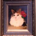《ご売約済み》「美人猫①」/太田あずさ