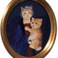 「Madonna Cat & Kitten」/小泉彫